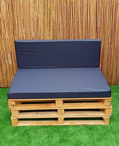 Euro Kissen-abdeckungen (KosiPad® Palette Platz Garten Möbel HD Schaumstoff Kissen wasserabweisenden Abdeckungen UK Made to Standard Euro Palette)