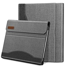 INFILAND iPad Pro 11 2020/2018 Case,Shockproof Leather Stand,Business Folio Cover Built in Pocket,Support 2 Gen Apple Pencil Charging,Auto Wake/Sleep Case iPad Pro 11 (2nd/1st Generation),Gray