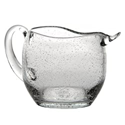 Abigails St. Remy Bubble Pitcher, 1.5-Quart, Clear
