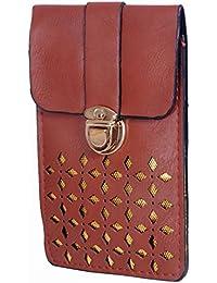 Ratash Golden Cut Work Sling Bag Dark Brown (Hbd_58_59_60_14)