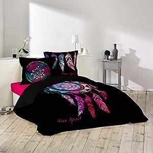 bettw sche douceur d 39 int rieur porte bonheur 3 teilig 240 x 220 cm bedruckt 42 f den aus. Black Bedroom Furniture Sets. Home Design Ideas