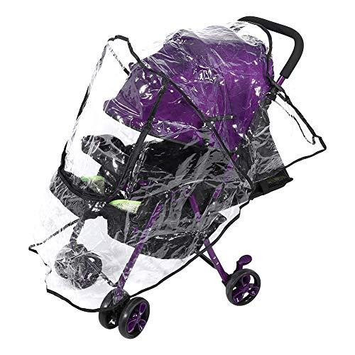 Parapioggia per passeggino Parapioggia da viaggio universale per carrozzina con antivento impermeabile e protezione dagli insetti polverosi della neve