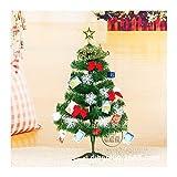 WUFANGFF Arbre De Noël De Luxe Mini Fruits Bureau Noël Lanterne Petites Décorations d'arbre Arbres D'Ornement Noeud Papillon 60Cm,60Cm Arbre De Noël