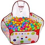Cozywind Piscina de Bola,Tienda de Juego para los Niños con Cesta de Pelota,