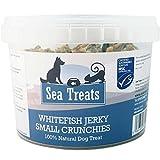 Sea Treats Whitefish Jerky Crunchies Small Dog Treats, 400 g