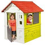Smoby Casa Nature II Grün, Rot und Weiß (810712) für Kinder, Farbe
