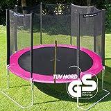 Ultrasport Garden/Outdoor Trampoline Jumper with Safety Net