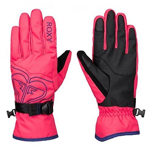 Roxy Popi Gloves J Glov Bgm0, Color: Paradise Pink, Size: M