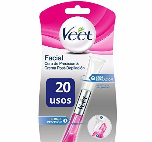 Veet Lapiz Facial Cera Precision & Crema Post-depilación