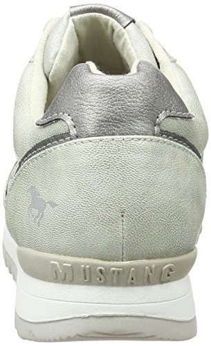 Mustang 1241-301-21, Sneakers Basses Femme Argent (21 Silber)