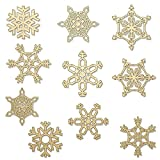 #6: Christmas Snowflakes Wooden DIY (Set of 10)