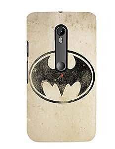 Citydreamz Batman Logo/movies Hard Polycarbonate Designer Back Case Cover For Motorola Moto G Dual SIM (Gen 3), Motorola Moto G3 Dual SIM