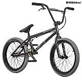 KHE BMX Fahrrad COPE 20 Zoll nur 10,7kg! schwarz grau (schwarz)
