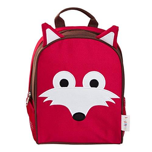 smileBaby mochila para guarderia y tiempo libre Zorro Rojo