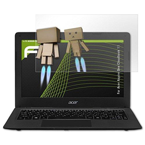 atFolix Bildschirmfolie kompatibel mit Acer Aspire One Cloudbook 11 Spiegelfolie, Spiegeleffekt FX Schutzfolie