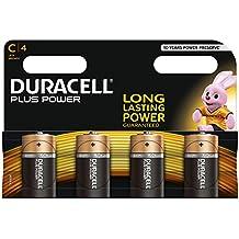 Duracell Baby C/LR14/AM2/4014 - Batterie alcaline da 1.5 V, Confezione da 4 pezzi