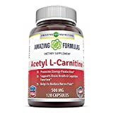 Best L carnitine - Amazing Nutrition Acetyl L- Carnitine Hcl - 500 Review