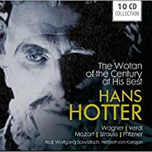 Hans Hotter- The Wotan Of The Century At His Best