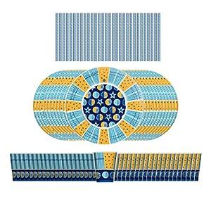 Magò SB001-XS - Kit de fiesta, multicolor
