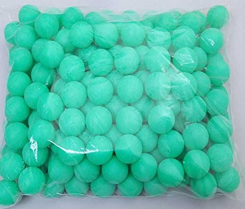 Coface 150pcs Scrub balles de ping pong balle de ping pong balle de loterie verte