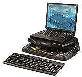Aidata 73111 Support avec rangements pour Moniteur/PC Portable Noir