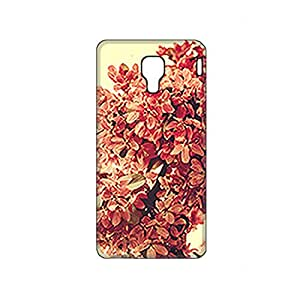 Vibhar printed case back cover for Micromax Canvas Spark Q380 Lillies
