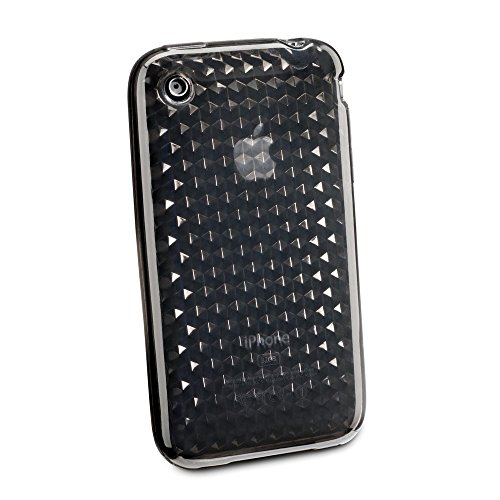CELLULAR LINE Weiches Etui Hexagon für Apple iPhone 3G/3GS weiß Grau
