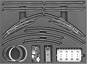 Märklin 8192  - Juego de vías dobles T1 importado de Alemania
