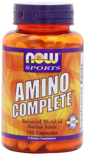 NOW Amino Complete - 120 cps