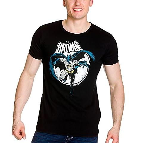 DC Batman Full Moon T-Shirt Slim Fit schwarz XXL