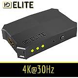 HDElite - Multiprise / Switch HDMI automatique - 1.4 4K 3D - 3 ports - Pour 3 appareils HDMI