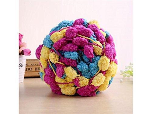 FERFERFERWON Dekoration Packung mit 6 Dicken Rough Woolen Chunky Garn Stricken Soft Hand-Knit Schal Linie für Das Haus Soft Knit Schal