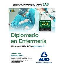Diplomado en Enfermería del Servicio Andaluz de Salud. Temario específico volumen 4