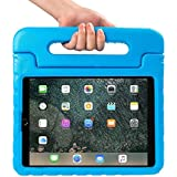 New IPad Pro 10.5 2017 Case, NEESI Kids Case Shock Proof Light Weight Convertible Handle Stand Bumper Cover Case For IPad Pro 10.5 Inch 2017 Release Tablet - Blue
