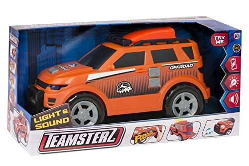 hty toys 4 x 4 Adventure 42 cm. con Luz y Sonidos Teamsterz (1416398)