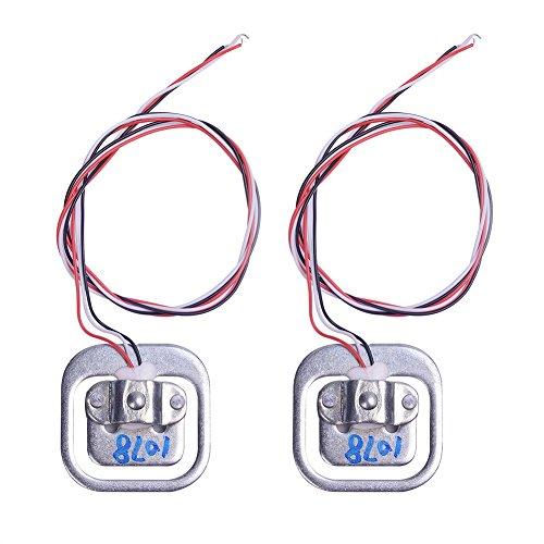Se utiliza ampliamente en básculas de tolva, básculas de plataforma, equilibrio de plataformas, básculas de cinturón y otros dispositivos de pesaje electrónicos. Especificaciones: Peso: 18 g. Tamaño: 3,4cm x 3,4cm. Capacidad: 50kg (cada uno). Estr...