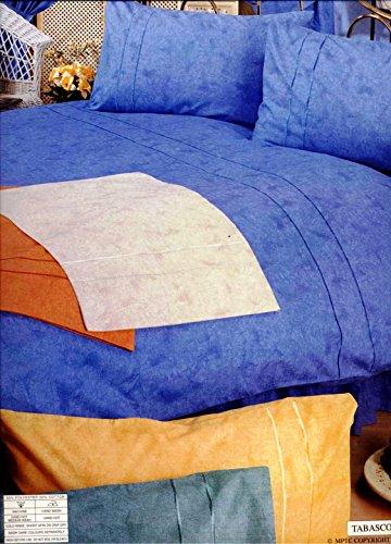 Velosso Easycare Plain Dyed Single Duvet Cover & Pillow Case Bed Set Lemon/Yellow