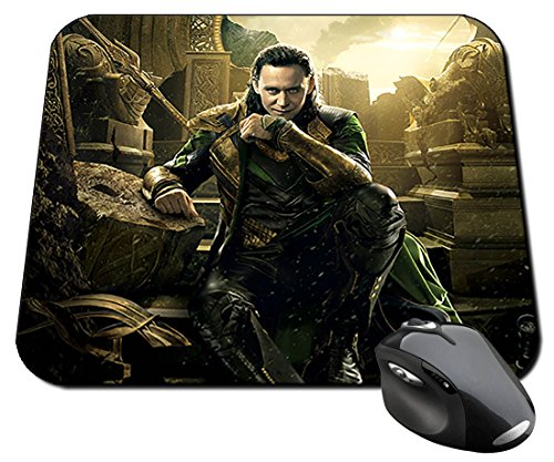 Thor Ragnarok Loki Tom Hiddleston Alfombrilla Mousepad PC