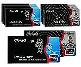 RFID-Schutzhülle, 10 Stück RFID & NFC Blocking Schutzhülle für EC-Karte, Bankkarte, Personalausweis, Kreditkarte - 100% Datenschutz vor NFC Funk-Chips, Kratzern und Betrughl (10pcs)
