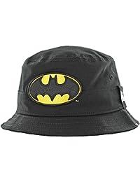 6fe30b9aba50c New Era Batman Character Bucket Hat Child Black Sonnenhut Kids DC Comics