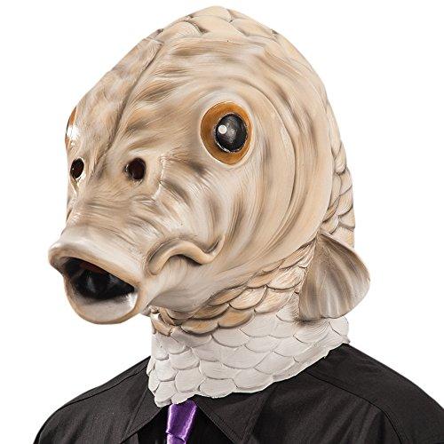 Maske Fisch Latex ()