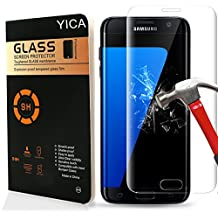 Galaxy S7 Protector de Pantalla, Yica Protector de Pantalla para Samsung Galaxy S7 HD Vidrio Templado Protector de Pantalla de Cristal Templado de Película Protectora para el Samsung Galaxy S7