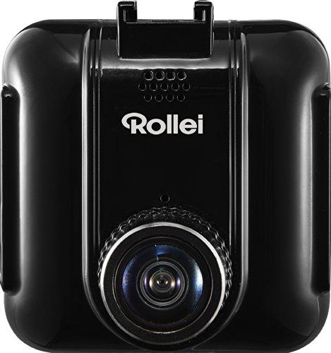 Rollei CarDVR-105 GPS (Auto-Kamera, Videoauflösung 1920 x 1080/30fps, Loop-Funktion, 170° Weitwinkel mit Glasobjektiv) - Black-box-marine-empfänger