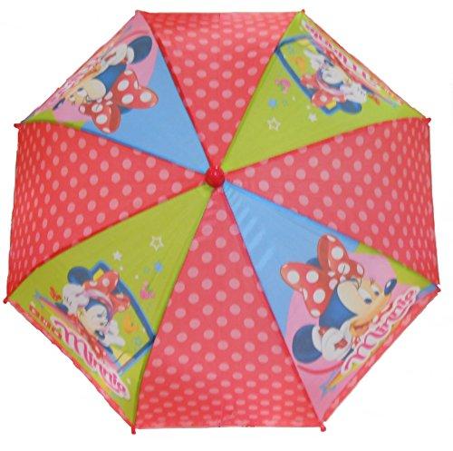 Preisvergleich Produktbild Kinder Regenschirm und Sonnenschirm Disney Minnie Maus 70x58cm