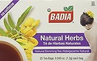 Badia Natural Herb Tea. Total 100 individual tea bags.