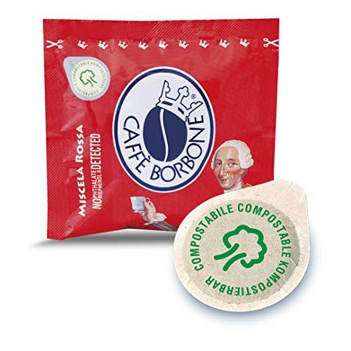 Caffè borbone cialde miscela rossa - confezione da 150 pezzi cialde - compatibile e.s.e.® dm 44