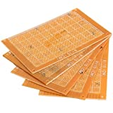 Tenflyer Juntas de papel 9x15cm Prototipos PCB en blanco DIY placa de circuito impreso