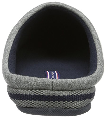 Tommy Hilfiger C2285ornwall 1d, Chaussons avec doublure froide homme Gris - Grau (Grey 030)