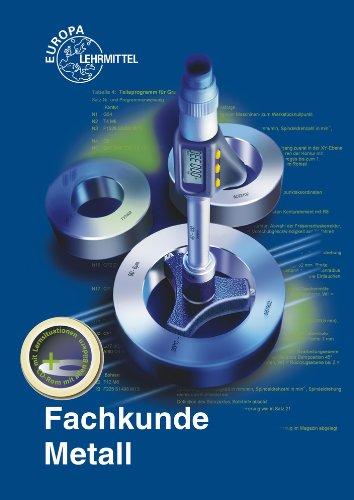 Buchseite und Rezensionen zu 'Fachkunde Metall' von Jörg Bartenschlager