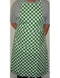 Aprons | Butchers Style Green Check